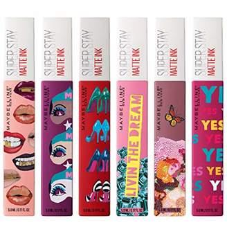 Maybelline SuperStay Matte Ink Liquid Lipstick X Ashley Longshore Kit