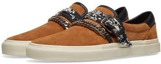 Amiri Slip On Bandana Suede Sneaker