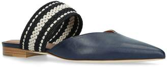 Malone Souliers Leather Hannah Slippers