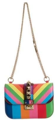 Valentino Rainbow Glam Lock Bag Multicolor Rainbow Glam Lock Bag