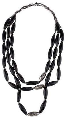 Di Modolo Black Agate Sahara Necklace