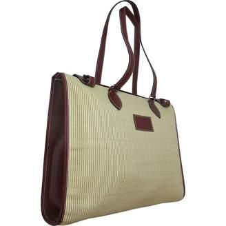 Hermes Beige Leather Handbag