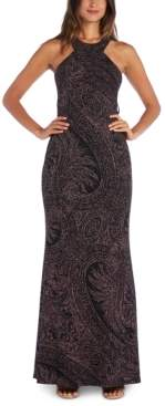 Morgan & Company Juniors' Glitter-Knit Gown