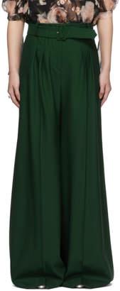 Erdem Green Ilaria Trousers
