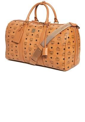 2cf1a8b1492 MCM Traveler Visetos Medium Weekender Bag