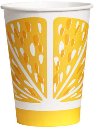 H&M 10-pack Paper Cups - Yellow