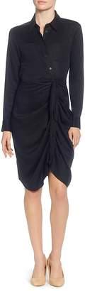Catherine Malandrino Sloan Tie Waist Shirt Dress