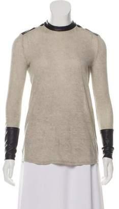 Helmut Lang Wool Blend Knit Top