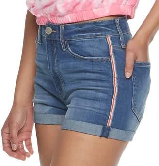 ba2952c865 So Juniors' SO Frayed Hem High Rise Shortie Shorts