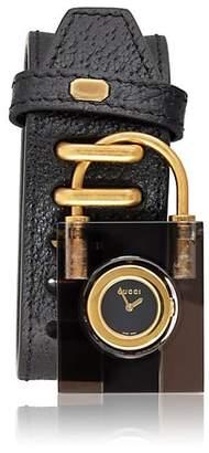bd58ac44719 Gucci Women s Padlock Watch - Black
