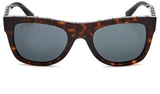 Valentino Women's Square Embellished Sunglasses, 51mm
