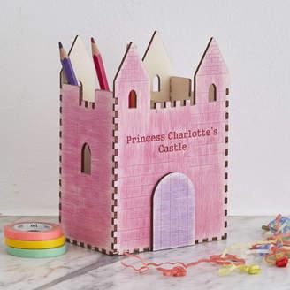 STUDY Bombus Personalised Princess Castle Desk Tidy