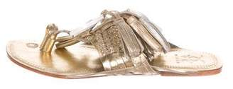 Figue Scaramouche Metallic Sandals w/ Tags