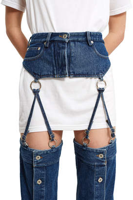 Y/Project Garters Straps Jeans