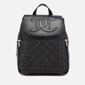 Juicy Couture Women's Ellen Flapover Backpack - Black