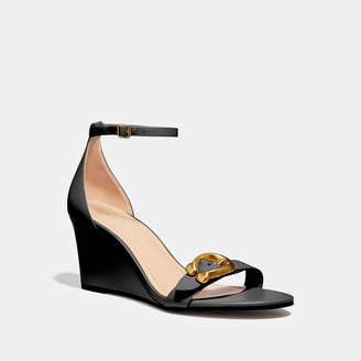 767e57b7cf Womens Black Wedge Sandals - ShopStyle UK