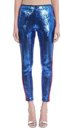 Laneus Blue Sequins Trousers