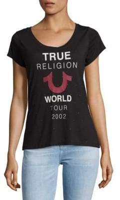 True Religion Graphic Slip-On Tee