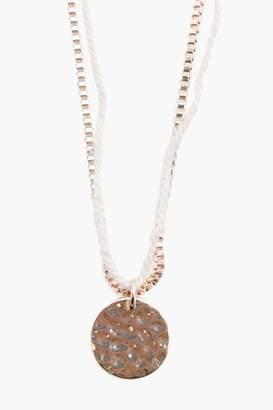 Multi Chain Pendant Necklace