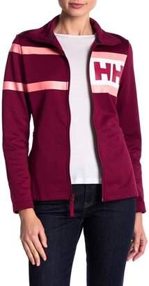 Helly Hansen Logo Stripe Fleece Jacket