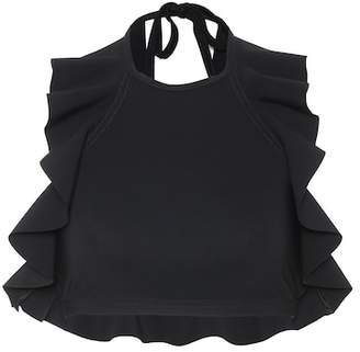 Karla Colletto Zaha halterneck bikini top