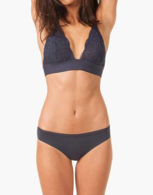 Madewell LIVELY Long-Lined Lace Bralette