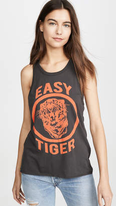 Chaser Womens Cotton Jersey Crew Neck Tank