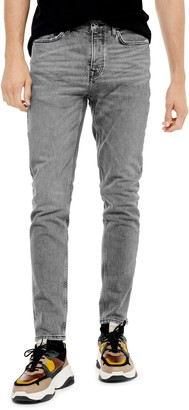 Topman Authentic Stretch Skinny Jeans