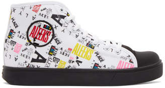 Heelys Alyx White and Black Edition High-Top Sneakers