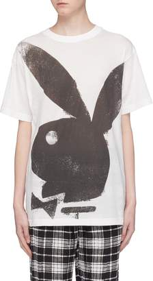 Marc Jacobs x Playboy bunny print oversized T-shirt