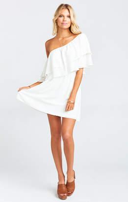 Show Me Your Mumu Holly Dress ~ White Picnic