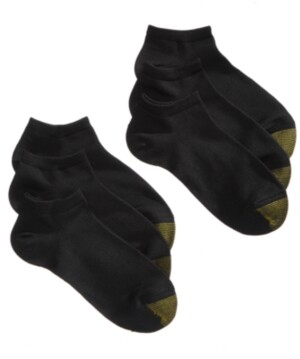 Gold Toe Women's 6 Pack Casual Ultra-Soft Liner Socks