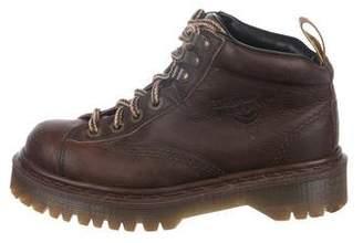 Dr. Martens Leather Platform Boots