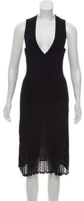 Alaia Sleeveless Knit Dress w/ Tags