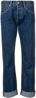 Burberry slim straight-leg jeans
