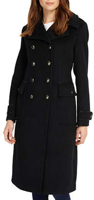 Phase Eight Kamryn Double-Breasted Wool-Blend Coat