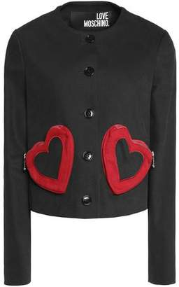 Love Moschino Stretch-Cotton Twill Jacket