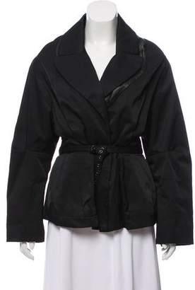 Rachel Comey Notch-Lapel Short Coat