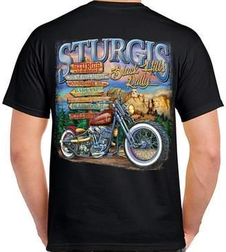 URBAN RESEARCH Biker Life Clothing Biker Life USA 2016 Sturgis Here T-Shirt
