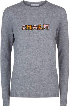 Bella Freud Lurex Charm Sweater