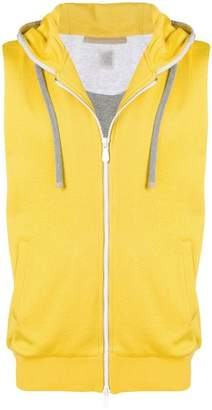 Eleventy two-tone hooded vest