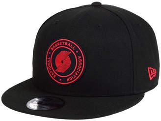 New Era Portland Trail Blazers Circular 9FIFTY Snapback Cap