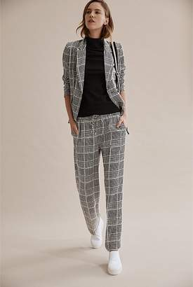 Country Road Check Wide Leg Pant