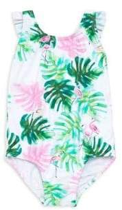 Pilyq Baby Girl's Bow One-Piece Swimsuit