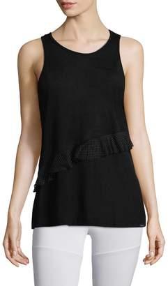 Koral Activewear Women's Wrack Mesh-Accented Tank Top