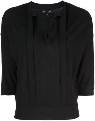 Narciso Rodriguez tie neck jumper