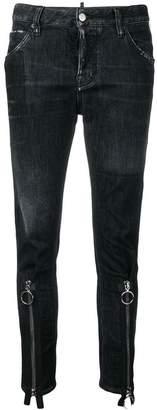 DSQUARED2 zipped cuff jeans