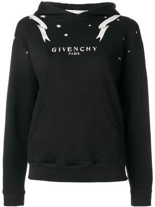 Givenchy Gemini zodiac print hoodie