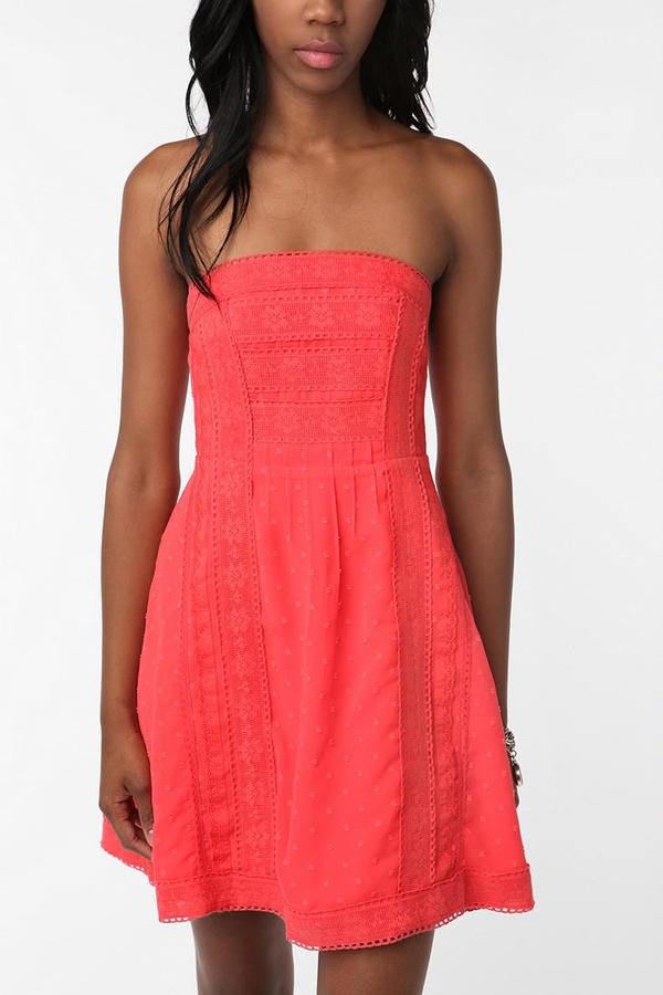 Kimchi Blue San Clemente Strapless Dress