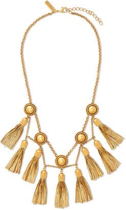 Rachel Zoe Jaqueline Tassel Fringe Necklace